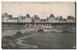 Postcard Old Chateau of Fontainebleau