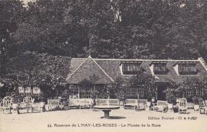 L'Haÿ-les-Roses , southern suburbs of Paris, France , Le Musee de la Rose , ...