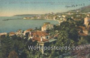 Menton, France, Carte, Postcard Boulevard de Garavan  Boulevard de Garavan