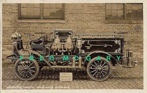 1915 Philadelphia RP Advertising PC: Chemical Fire Engine & Hose Motor Car