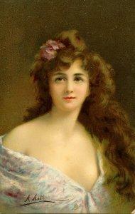 Gladys     Artist: A. Asti    (Tuck)
