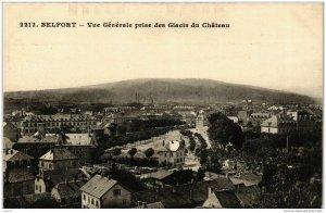 CPA Belfort Vue generale prise des Glacis du Chateau (722197)