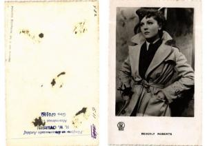 CPA Beverly Roberts FILM STAR (548604)