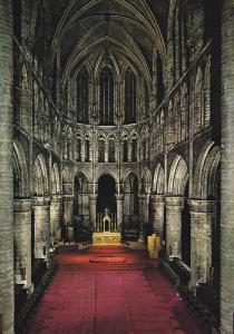 Cathedral of St. Michael, High Altar, BRUSSELS, Belgium, 50-70's