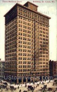 Third National Bank Building St. Louis MO 1908