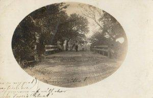 RP: WOOD RIVER , Nebraska, 1910 ; Street