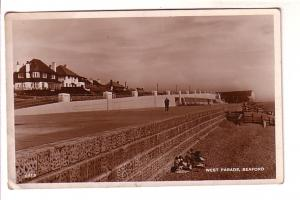 Real Photo, West Parade, Seaford, England