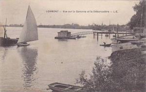 LORMONT , Gironde , France , 00-10s ; Vue sur la Garonne et le Debarcadere