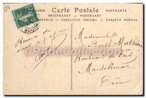 Old Postcard Menton Garavan By The Bay Of Big Time