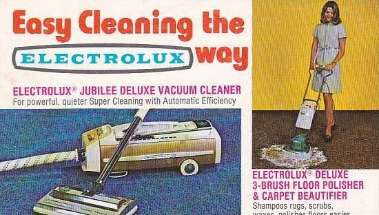 Electrolux Jubilee Deluxe Vacuum Cleaner