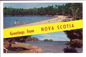 Greetings from Nova Scotia, Beaches
