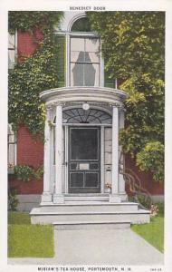 Benedict Door, Miriam's Tea House, Portsmouth, New Hampshire, 00-10s