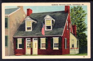 Barbara Fritchie House,Frederick,MD