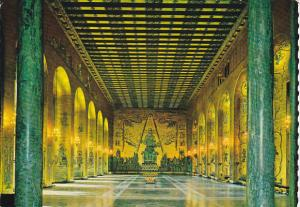 Sweden Stockholm City Hall Banquet Room Golden Hall