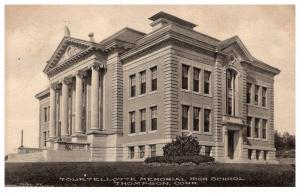 Connecticut   Thompson ,  Tourtellotte Memorial High School
