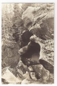 RPPC NH Woodstock Lost River Gorge Rotunda Rocks Cave