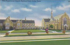 Texas Dallas New Presbyterian Church Highland Park