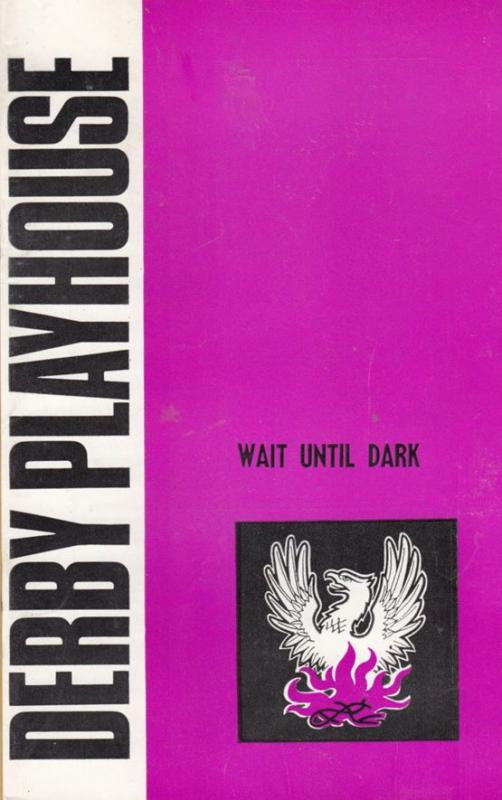 Wait Until Dark Thriller Drama Notting Hill Gate 1970s Derby Theatre Programme
