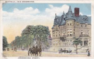 Sherbrooke Street, MONTREAL, Quebec, Canada, 10-20s