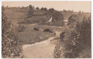 Unidentified Rural Bridge & Road RP PPC Unposted, Location Unknown