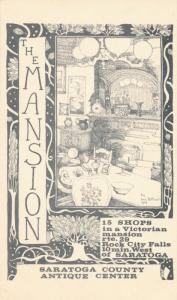 The Mansion at Saratoga County Antique Center - Rock City Falls NY, New York