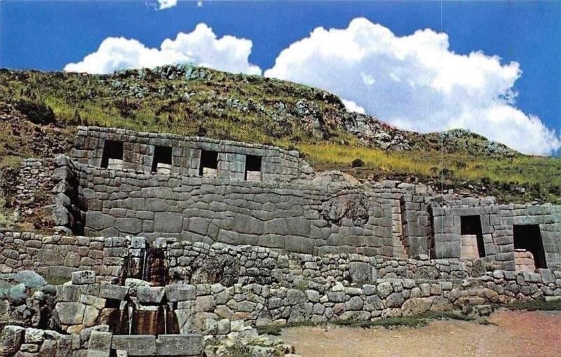 Peru Cusco, Tampu Machay, Bano Ritual Incaico Ceremonial Inca's Bath