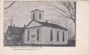 LANESBORO , Pennsylvania, 1907 ; M. E. Church