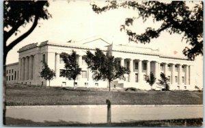Guthrie, Oklahoma RPPC Real Photo Postcard SCOTTISH RITE TEMPLE Masonic c1920s