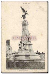 Postcard Ancient Monument Carnot Dijon