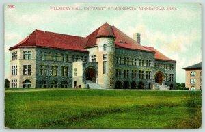 Minneapolis University of Minnesota~Corner Domed Tower~Pillsbury Hall & Grounds