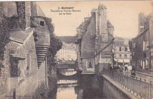 France Quimper Tourelle et Vieilles Maisons sur le Steir