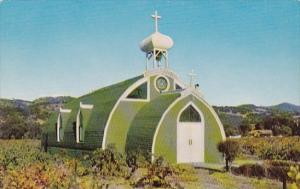 California Asti Famous El Carmelo Chapel In The  Italian Swiss Colony Vineyard