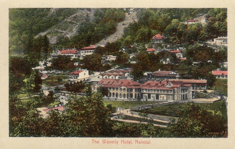 NAINITAL , Uttarakhand , India , 1900-10s ; Waverly Hotel