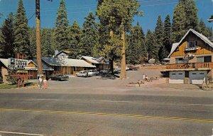 ALPINE LODGE Tahoe Vista, CA LAKE TAHOE Roadside c1960s Vintage Postcard