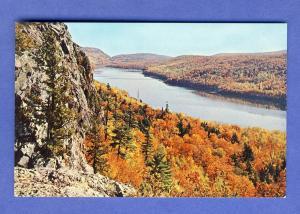 Michigan/MI State Park, Postcard, Lake Of The Clouds