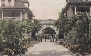 BENTON HARBOR, Michigan, PU-1935; Eden Springs, House of David