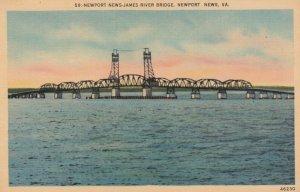 NEWPORT NEWS , Virginia , 1930-40s ; St. James bridge