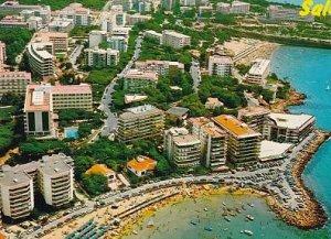 POSTAL B01288: Salou. Costa Dorada. Tarragona. Vista parcial.