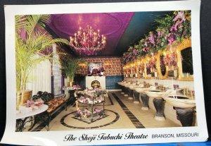Missouri Branson Shoji Tabuchi Theatre Vintage Postcard