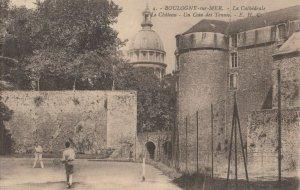 BOULOGNE-sur-MER , France, 1900-10s; Tennis