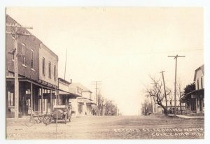 Postcard Cole Camp Missouri 2nd St Reproduction Continental View Card