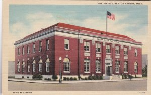 Michigan Benton Harbor Post Office Curteich sk2709
