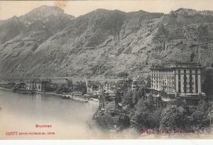Brunnen ,Lake Lucerne , Switzerland , 00-10s ; Grand Hotel Brunnen