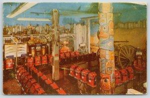 Reno Nevada~Harrold's Club~Ft Smith~Totem Poles~One Arm Bandit~Slot Machine 1956