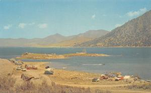 Kern River Valley California~Isabella Lake~Bonanza TV Show~Tents~Trailers~1960s