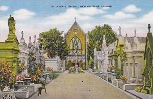 Louisiana New Orleans St Rochs Chapel