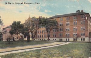 ROCHESTER, Minnesota, PU-1912; St Mary´s Hospital