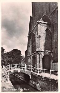 Delft Holland Ingang Oude Kerk Delft Ingang Oude Kerk