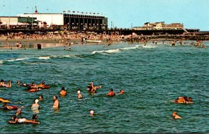 New Jersey Ocean City Bathing In The Blue Atlantic 1975