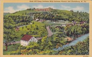 West Virginia Clarksburg State 4 H Camp Jacksons Mills Between Weston And Cla...